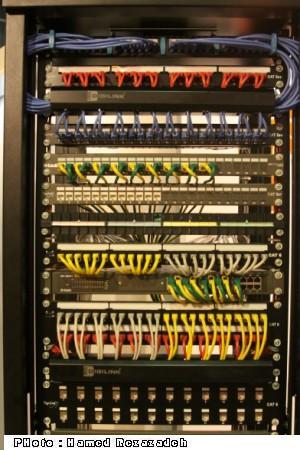 رک و کابل شبکه